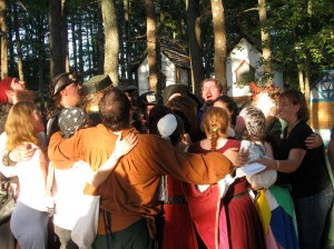 King Richard's Faire, the village of Carvershire, Carver, MA, photo by Christine Steele